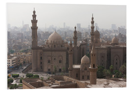 Print på skumplade  Mosque of Sultan Hassan in Cairo old town, Cairo, Egypt, North Africa, Africa - Martin Child