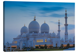 Lærredsbillede  Sheikh Zayed Grand Mosque - Jane Sweeney