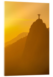 Akrylbillede  Christ the Redeemer statue, Rio - Michael Runkel