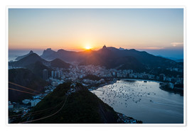 Premium-plakat  View from the Sugarloaf - Michael Runkel