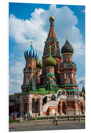 Print på skumplade  St. Basil's Cathedral, Moscow - Michael Runkel