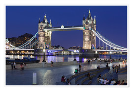 Premium-plakat Tower Bridge