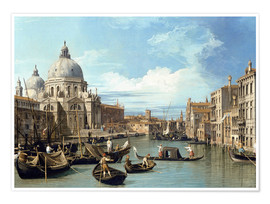 Premium-plakat  The Entrance to the Grand Canal, Venice - Bernardo Bellotto (Canaletto)