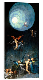 Akrylbillede  Ascent of the Blessed - Hieronymus Bosch