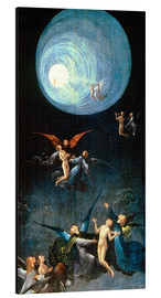 Print på aluminium  Ascent of the Blessed - Hieronymus Bosch
