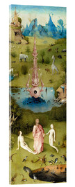 Akrylbillede  Garden of Earthly Delights, the paradise - Hieronymus Bosch