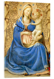 Akrylbillede  Madonna with Child - Fra Angelico