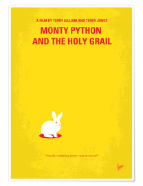 Premium-plakat  Monty Pyton And The Holy Grail minimal movie poster - chungkong
