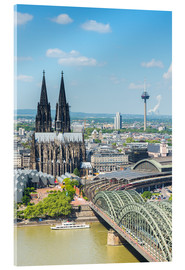 Akrylbillede  Cologne Cathedral (Cathedral of St. Peter) - rclassen