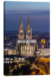 Lærredsbillede  cathedral of cologne - rclassen
