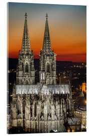 Akrylbillede  cathedral of cologne - rclassen