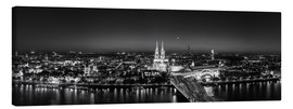 Lærredsbillede  Panorama of the Cologne skyline, Germany - rclassen