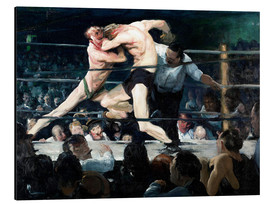 Print på aluminium  Stag at Sharkey's - George Wesley Bellows