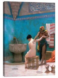 Lærredsbillede  The Bath - Jean Leon Gerome