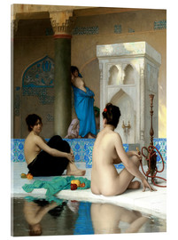 Akrylbillede  After the Bath - Jean Leon Gerome