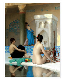 Premium-plakat  After the Bath - Jean Leon Gerome