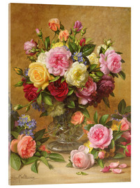 Akrylbillede  Victorian Roses - Albert Williams