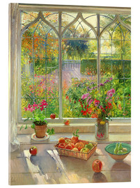 Akrylbillede  Haveudsigt - Timothy Easton