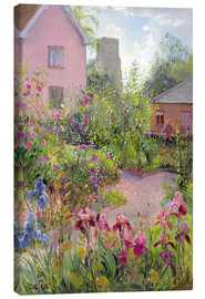 Lærredsbillede  Herb Garden at Noon - Timothy Easton