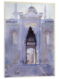Akrylbillede  Gateway to The Blue Mosque - Lucy Willis