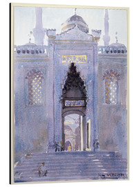 Print på aluminium  Gateway to The Blue Mosque - Lucy Willis