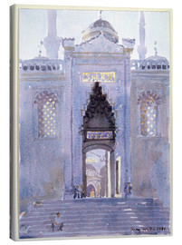 Lærredsbillede  Gateway to The Blue Mosque - Lucy Willis