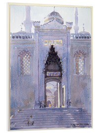 Print på skumplade  Gateway to The Blue Mosque - Lucy Willis