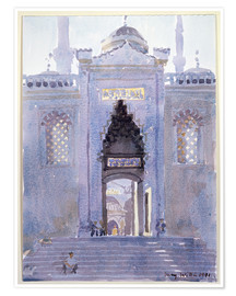 Premium-plakat  Gateway to The Blue Mosque - Lucy Willis