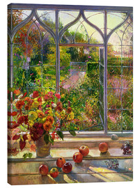 Lærredsbillede  Autumn view - Timothy Easton