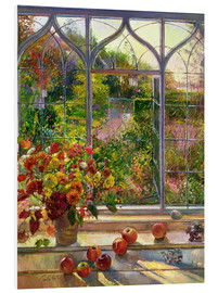 Print på skumplade  Autumn view - Timothy Easton
