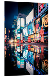 Akrylbillede  Broadway, Times Square by night - Sascha Kilmer