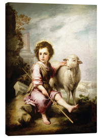 Lærredsbillede  The Good Shepherd - Bartolome Esteban Murillo