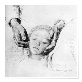 Premium-plakat  Studie for The Downtrodden - Käthe Kollwitz