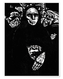 Premium-plakat  The people (the war) - Käthe Kollwitz