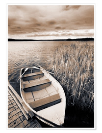 Premium-plakat  Boat on Lake Burntstick - Darwin Wiggett