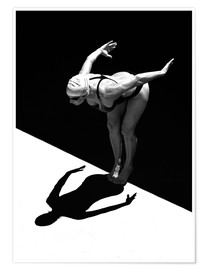 Premium-plakat  A woman jumps into the water I - Ben Welsh