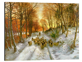 Print på aluminium  Through The Calm And Frosty Air - Joseph Farquharson