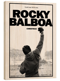 Print på træ  Rocky Balboa - Entertainment Collection