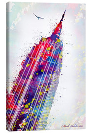 Lærredsbillede  Empire State Building - Mark Ashkenazi