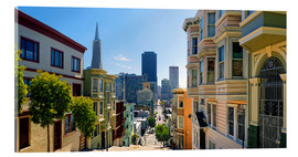 Akrylbillede  Streets of San Francisco - Michael Rucker