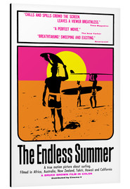 Print på aluminium  The Endless Summer - Entertainment Collection