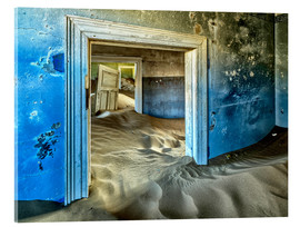 Akrylbillede  Sand in the premises of an abandoned house - Robert Postma