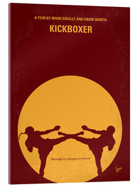 Akrylbillede  No178 My Kickboxer minimal movie poster - chungkong