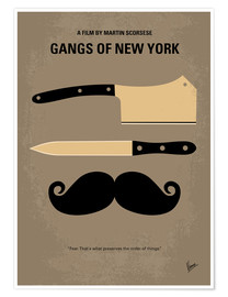 Premium-plakat Gangs of New York