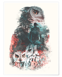 Premium-plakat  The Owls are Not What They Seem - Barrett Biggers