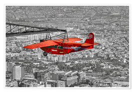 Premium-plakat  Sightseeing flight over Barcelona - jens hennig