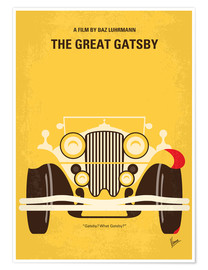 Premium-plakat The Great Gatsby