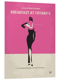 Print på skumplade  Breakfast at Tiffany's - chungkong