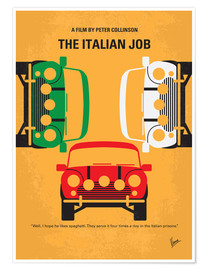 Premium-plakat The Italian Job