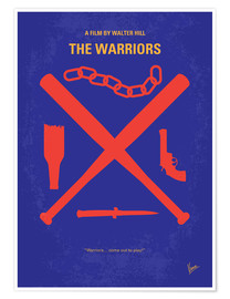 Premium-plakat The Warriors